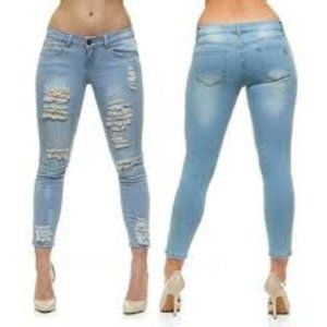 VIP JEANS High Rise Jeggings